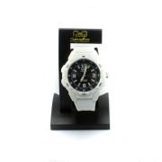 Bílé silikonové hodinky VR54J008Y