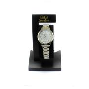 Dámské ocelové hodinky zdobené kamínky QB09J204Y