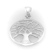 Stříbrný strom života A022