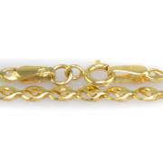 Zlatý náramek - rybička