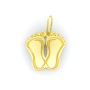 Zlatý přívěsek dětská chodidla 4089 M