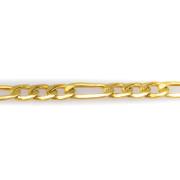 Náramek ze žlutého zlata - Figaro