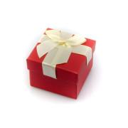Červená dárková krabička 003K