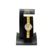 Zlaté dámské hodinky Q&Q Y041-001Y