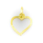 Zlatý přívěsek srdce 6242 PL