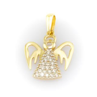 Zlatý přívěsek anděla 6129 D