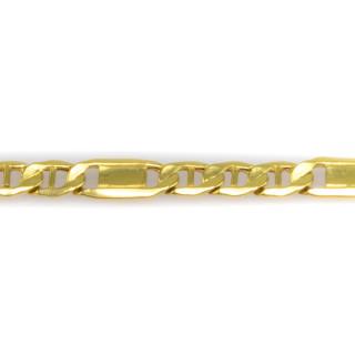 Náramek ze žlutého zlata