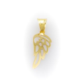 Zlatý přívěsek andělské křídlo