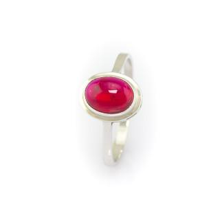 Prsten s rubínovým kamenem 3199 SL