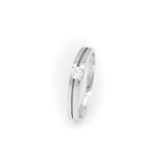 Zlatý prstýnek se zirkonem 4105 L
