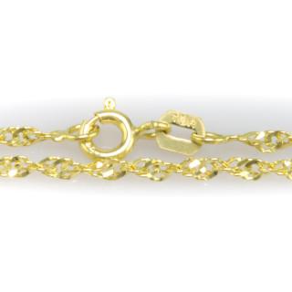 Zlatý dámský náramek - Lambáda