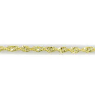 Zlatý spirálovitý náramek