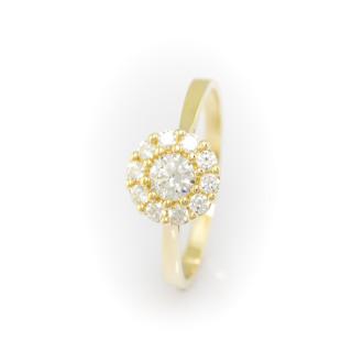 Zlatý prsten 3983 PL