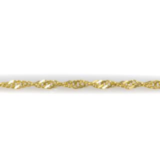 Kroucený zlatý náramek 5987 PL