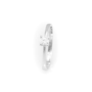 Zlatý zásnubní prstýnek 3871 D
