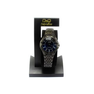 Pánské ocelové hodinky - černé 9715 - 212