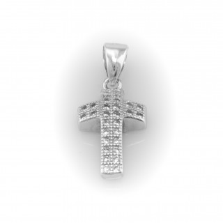 Stříbrný kříž A028