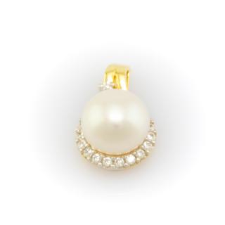 Zlatý perlový přívěsek 3911 PL