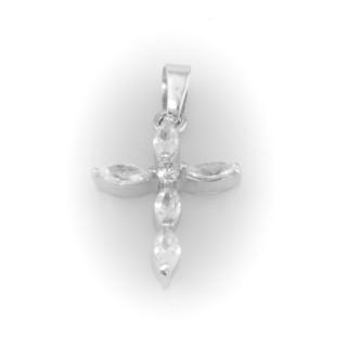 Stříbrný kříž A025