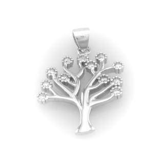 Zlatý přívěsek strom života 4122 PL