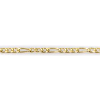 Náramek ze žlutého zlata vzoru Figaro 5846 PL