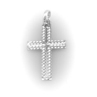 Křížek bílé zlato 3898 PL