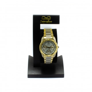 Ocelové hodinky dvojí barvy AA27J401Y