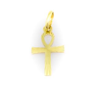 Zlatý přívěsek koptský křížek