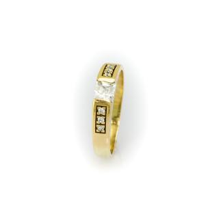 Zlatý prsten 5856 PL
