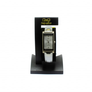 Dámské hodinky se stříbrným páskem KV01-301Y