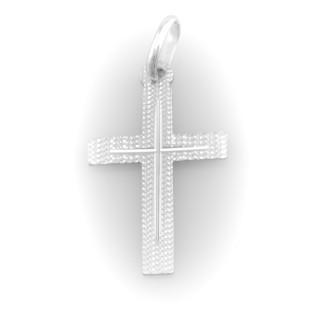 Zlatý přívěsek křížek 3897 PL