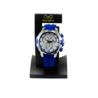 Modré silikonové hodinky DG14J003Y