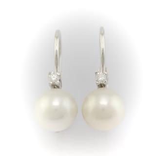 Náušnice s perlou 5491PL
