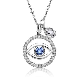 Stříbrný náhrdelník New Age