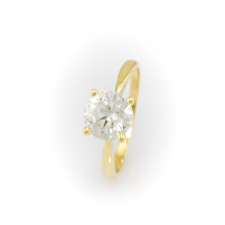 Zlatý prsten zásnubní 4039 AD